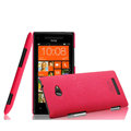 IMAK Cowboy Shell Hard Case Cover for HTC 8X C620e - Rose (High transparent screen protector)
