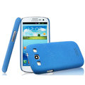 IMAK Cowboy Shell Hard Case Cover for Samsung i939D GALAXY SIII - Blue (High transparent screen protector)