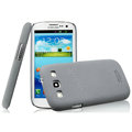 IMAK Cowboy Shell Hard Case Cover for Samsung i939D GALAXY SIII - Gray (High transparent screen protector)