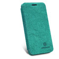Nillkin leather Cases Holster Covers Skin for MEIZU MX2 - Green (High transparent screen protector)