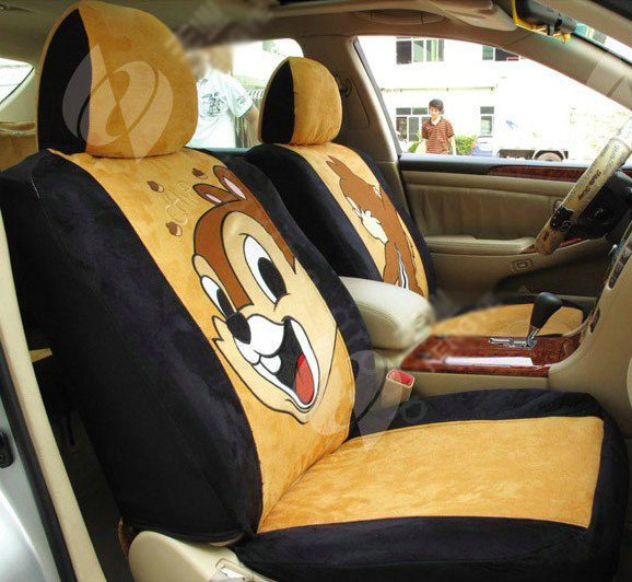 buy wholesale disney donaldduck custom auto car seat cover set suede black brown from chinese. Black Bedroom Furniture Sets. Home Design Ideas