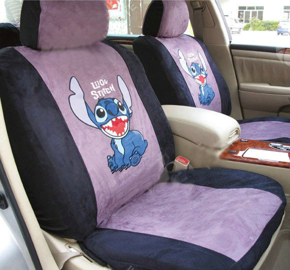 Buy Wholesale Disney Stitch Custom Auto Car Seat Cover Set