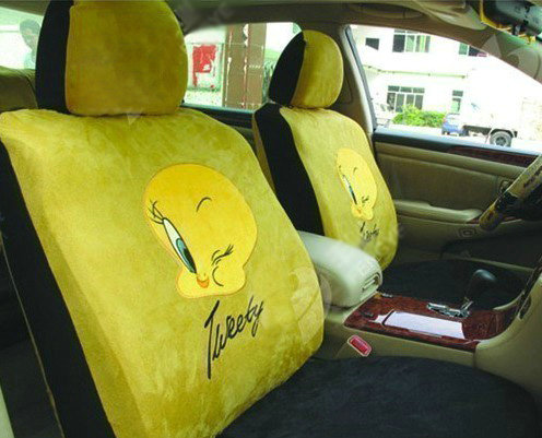 Buy Wholesale Disney Tweety Bird Custom Auto Car Seat
