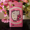 Hello kitty Bling Crystal Case Rhinestone Cover for LG P880 Optimus 4X HD - Rose