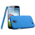 IMAK Cowboy Shell Hard Case Cover for Samsung GALAXY S4 I9500 SIV - Blue (High transparent screen protector)