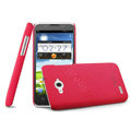 IMAK Cowboy Shell Hard Case Cover for ZTE N983 - Rose (High transparent screen protector)