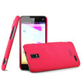 IMAK Cowboy Shell Hard Case Cover for ZTE U956 - Rose (High transparent screen protector)