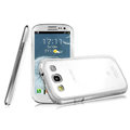 IMAK Crystal Case Hard Cover Transparent Shell for Samsung i939D GALAXY SIII - White