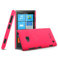 IMAK Ultrathin Matte Color Cover Hard Case for Nokia Lumia 720 - Rose (High transparent screen protector)