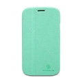 Nillkin Fresh leather Case Bracket Holster Cover Skin for Samsung i9080 i9082 Galaxy Grand DUOS - Green
