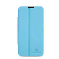 Nillkin Fresh leather Case button Holster Cover Skin for ZTE U956 - Blue
