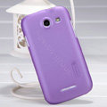 Nillkin Super Matte Hard Case Skin Cover for Coolpad 5890 - Purple (High transparent screen protector)