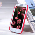 Nillkin Super Matte Hard Case Skin Cover for Coolpad 5890 - Red (High transparent screen protector)