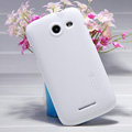 Nillkin Super Matte Hard Case Skin Cover for Coolpad 5890 - White (High transparent screen protector)