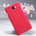 Nillkin Super Matte Hard Case Skin Cover for Coolpad 5930 - Red (High transparent screen protector)