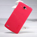 Nillkin Super Matte Hard Case Skin Cover for Lenovo S920 - Red (High transparent screen protector)