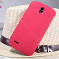 Nillkin Super Matte Hard Case Skin Cover for ZTE N909 - Red (High transparent screen protector)