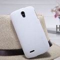 Nillkin Super Matte Hard Case Skin Cover for ZTE N909 - White (High transparent screen protector)