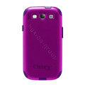 Original Otterbox Commuter Case Cover Shell for Samsung Galaxy SIII S3 I9300 I9308 I939 I535 - Purple