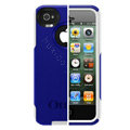 Original Otterbox Commuter Case Cover Shell for iPhone 4G 4S - Blue White