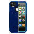 Original Otterbox Commuter Case Cover Shell for iPhone 4G 4S - Blue