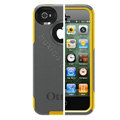 Original Otterbox Commuter Case Cover Shell for iPhone 4G 4S - Yellow Gray