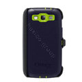 Original Otterbox Defender Case Cover Shell for Samsung Galaxy SIII S3 I9300 I9308 I939 I535 - Blue