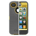 Original Otterbox Defender Case Cover Shell for iPhone 4G 4S - Gray Yellow