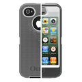 Original Otterbox Defender Case Cover Shell for iPhone 4G 4S - Gray