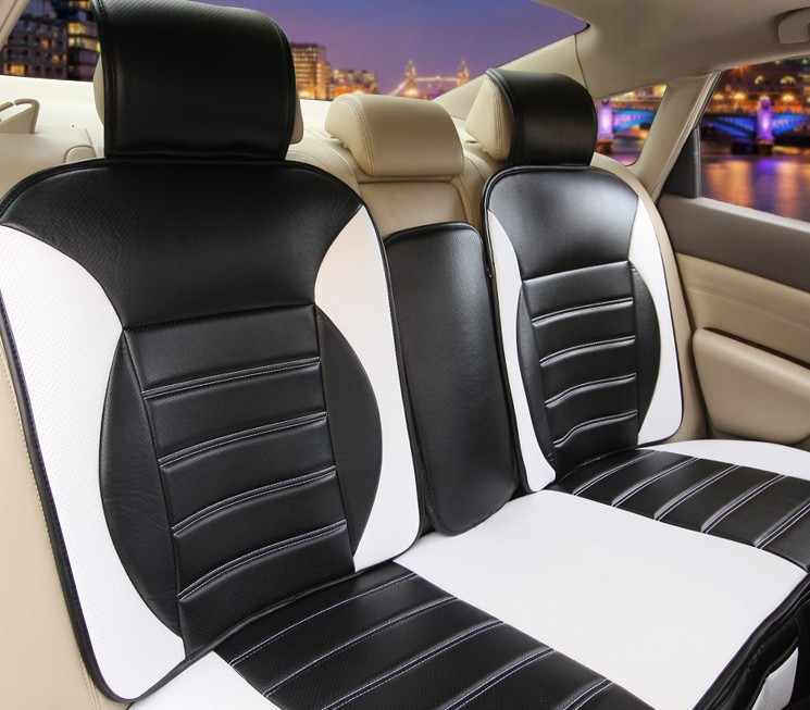 Car Seat Cover Cushion Set Artificial Leather