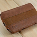 Melkco Flip leather Case Luxury Holster Covers for Samsung i9250 GALAXY Nexus - Brown