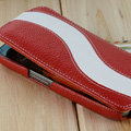 Melkco Flip leather Case Luxury Holster Covers for Samsung i9250 GALAXY Nexus - Red