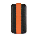 Melkco Flip leather Cases Luxury Holster Covers for Samsung i9250 GALAXY Nexus - Orange