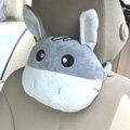 Donkey Auto Neck Pillows Car Headrest Plush Cotton Cross-eye - Gray