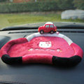 Hello Kitty Automobile Non-Slip Mat Plush Car Anti-Slip Mat Box Staff - Red