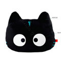 Meow Star People Luminous Doll Auto Car Cushions Plush Cotton Cross-eye - Black