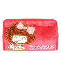 Mocmoc Auto Car Tissue Box Plush Cotton Cartoon - Red