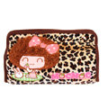 Mocmoc Auto Car Tissue Box Plush Cotton Leopard - Brown