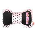 Mocmoc Auto Neck Pillows Car Headrest Plush Cotton Point - Pink