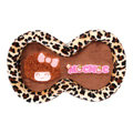 Mocmoc Automobile Non-Slip Mat Plush Car Anti-Slip Mat Box Leopard - Brown