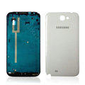 Original Front Housing Battery Back Cover For Samsung N7100 GALAXY Note2 - White
