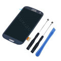 Original Fullset LCD With Touch Screen Digitizer Assembly + Tools For Samsung Galaxy SIII S3 I9300 - Blue