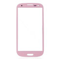 Original Glass Lens Compatible For Samsung Galaxy SIII S3 I9300 - Pink