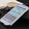 Swarovski Bling Metal Bumper Frame Case Cover for Samsung i9080 i9082 Galaxy Grand DUOS - Silver