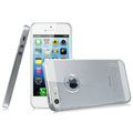 IMAK Crystal Case Hard Cover Transparent Shell for iPhone 5C - White