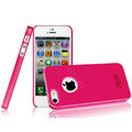 Imak ice cream hard cases covers for iPhone 5C - Rose (High transparent screen protector)