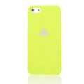 ROCK Naked Shell Cases Hard Back Covers for iPhone 5C - Yellow