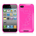 iPEARL Silicone Cases Covers for iPhone 5C - Rose
