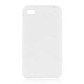 s-mak Color covers Silicone Cases For iPhone 5C - White