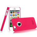 IMAK Ultrathin Matte Color Covers Hard Cases for iPhone 5S - Rose (High transparent screen protector)